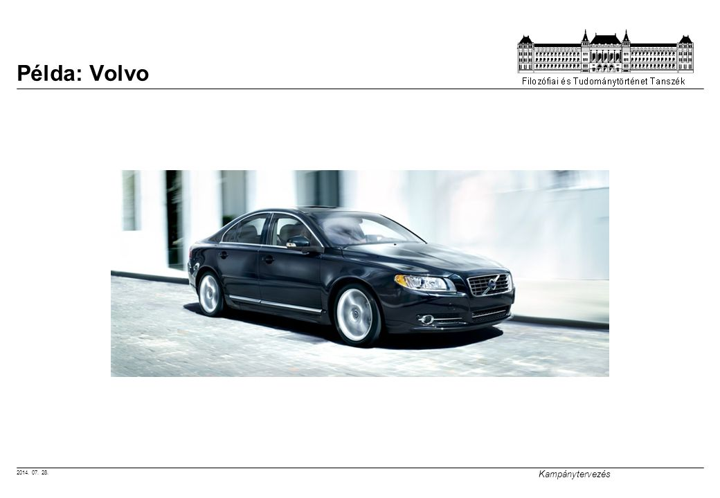 Példa: Volvo