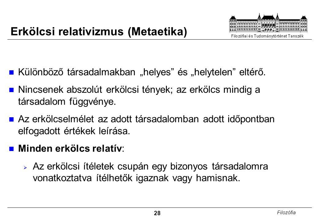 Erkölcsi relativizmus (Metaetika)