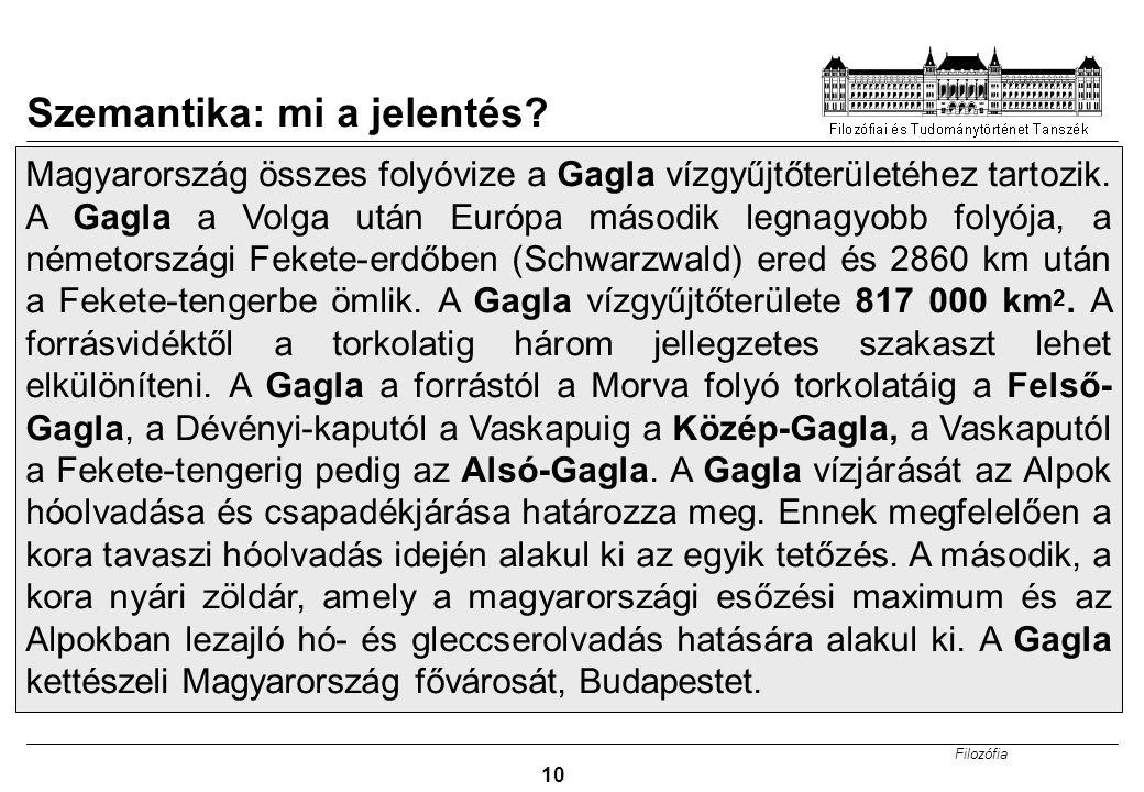 Szemantika: mi a jelentés