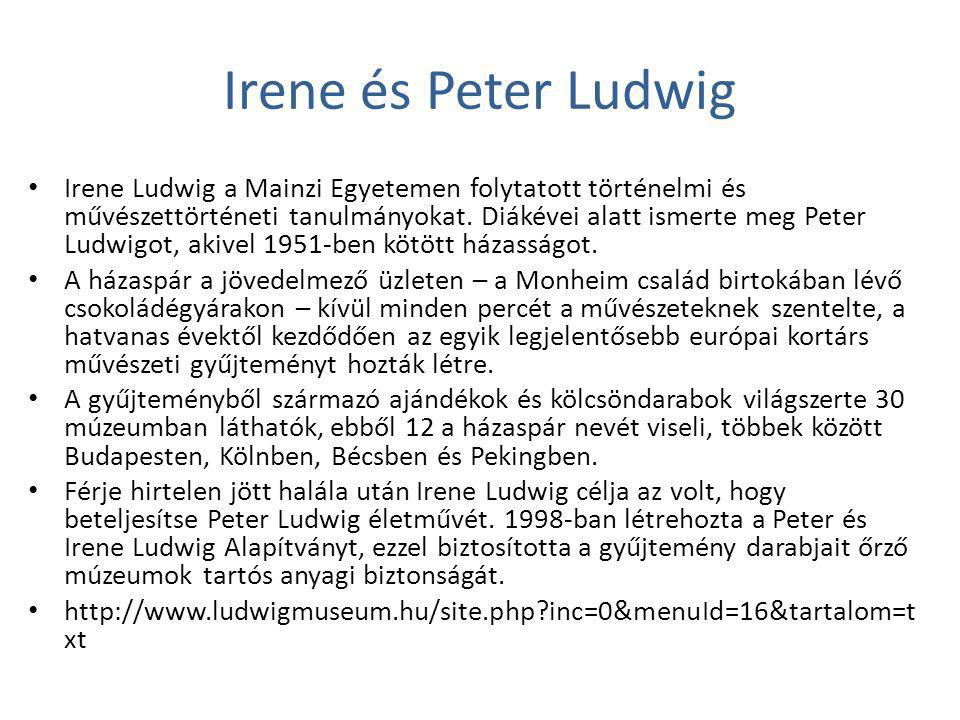 Irene és Peter Ludwig