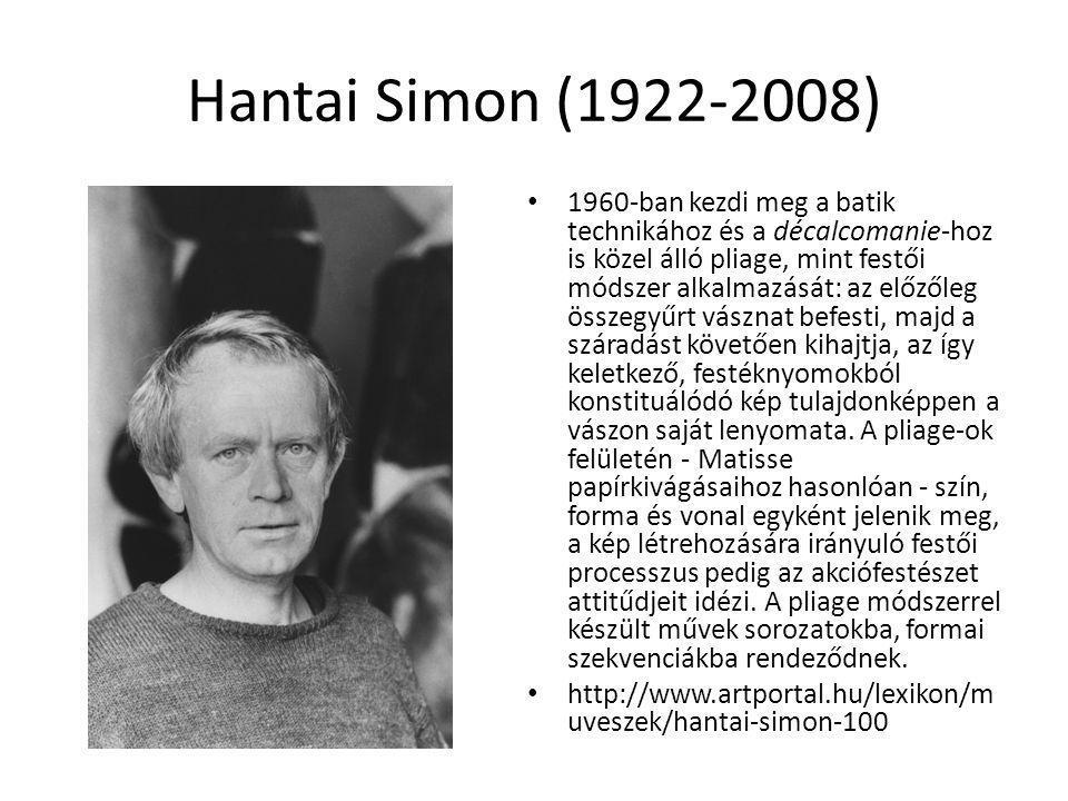 Hantai Simon (1922-2008)
