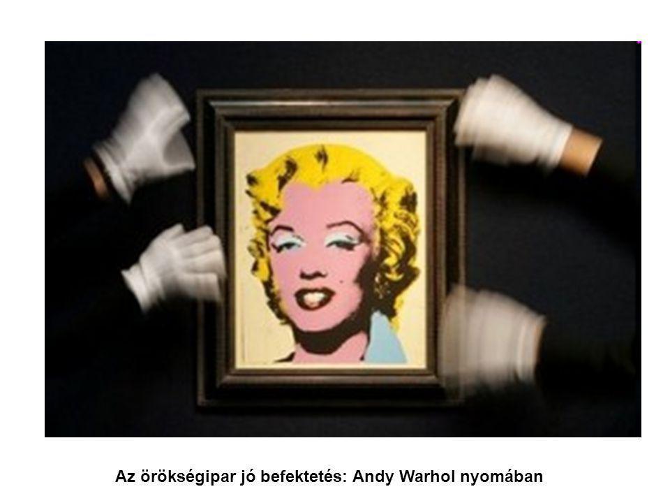 Az örökségipar jó befektetés: Andy Warhol nyomában