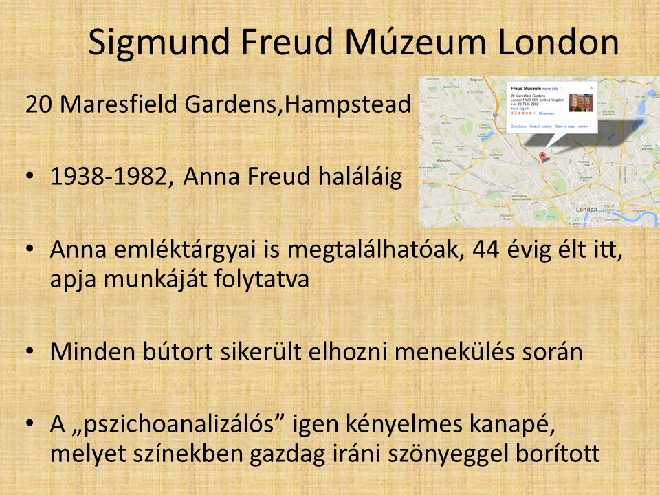 Sigmund Freud Múzeum London