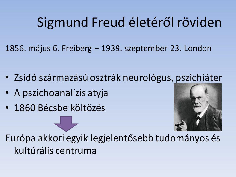 Sigmund Freud életéről röviden