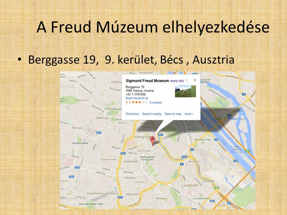 A Freud Múzeum elhelyezkedése