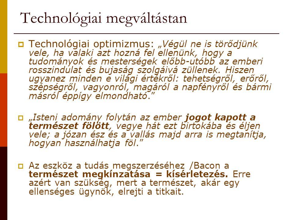 Technológiai megváltástan