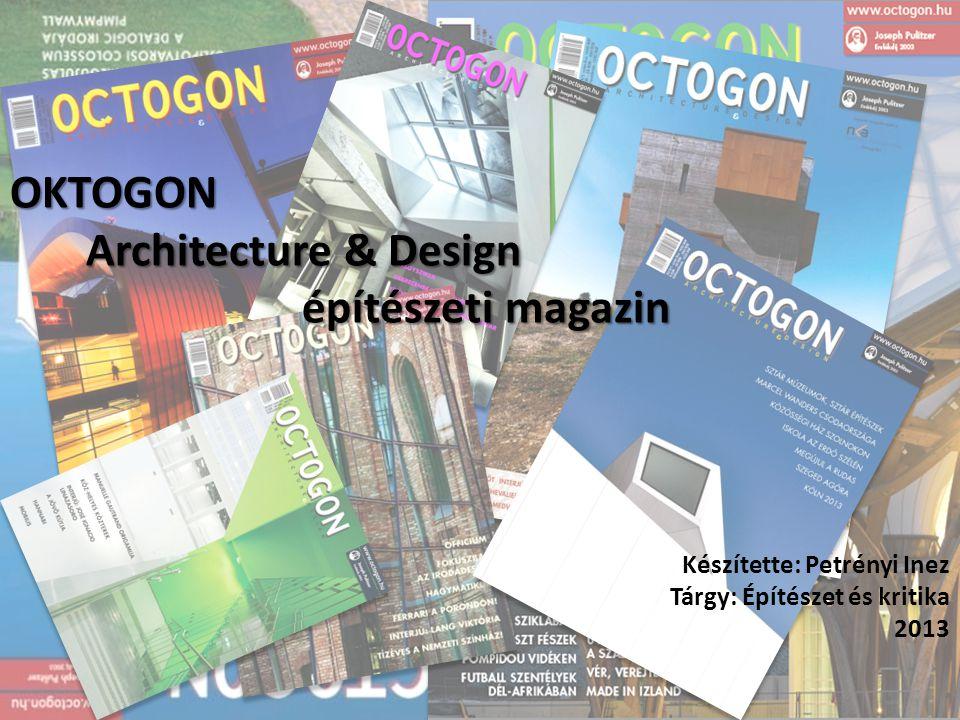 OKTOGON Architecture & Design építészeti magazin