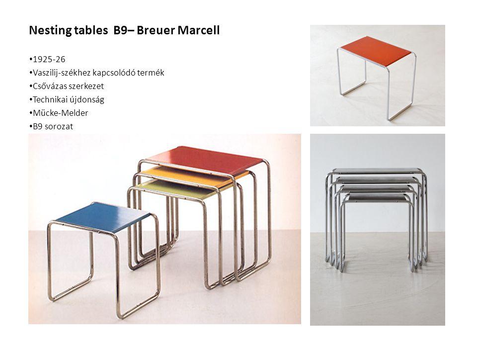 Nesting tables B9– Breuer Marcell