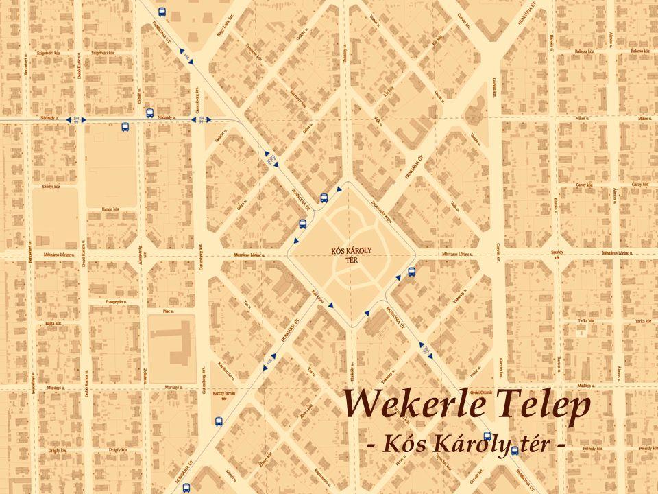 Wekerle Telep - Kós Károly tér -