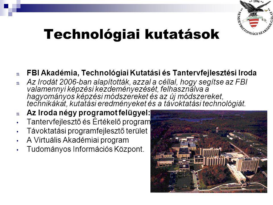 Technológiai kutatások