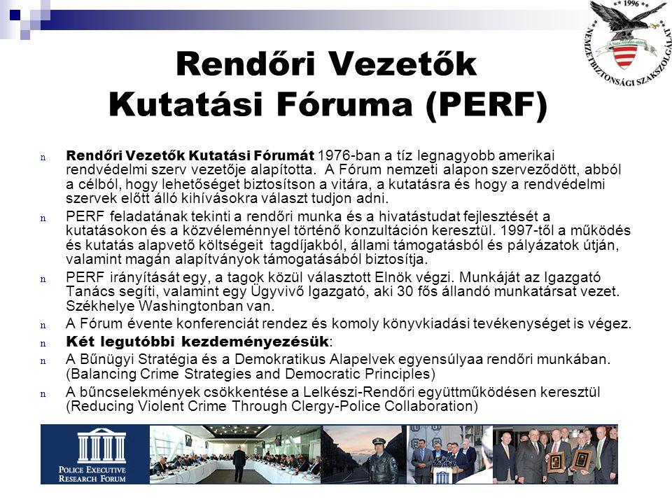 Rendőri Vezetők Kutatási Fóruma (PERF)