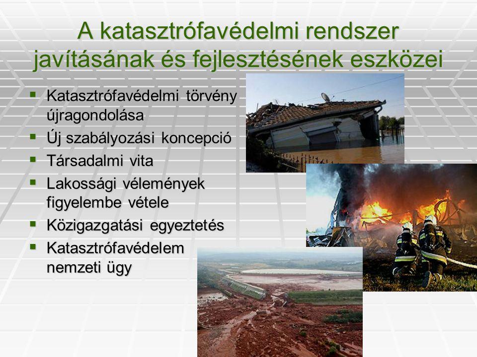A katasztrófavédelmi rendszer javításának és fejlesztésének eszközei
