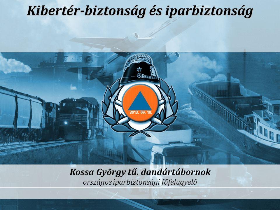 Kibertér-biztonság és iparbiztonság Kossa György tű. dandártábornok