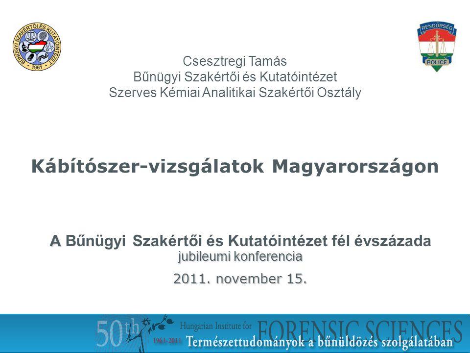 Kábítószer-vizsgálatok Magyarországon
