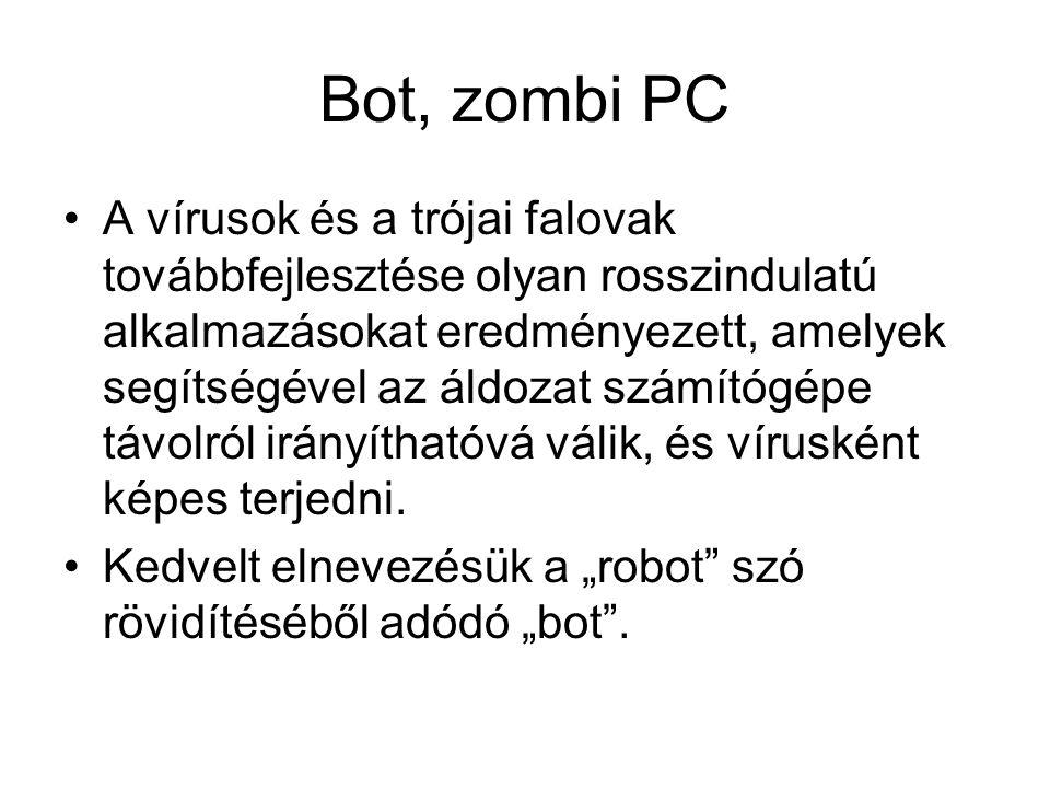 Bot, zombi PC