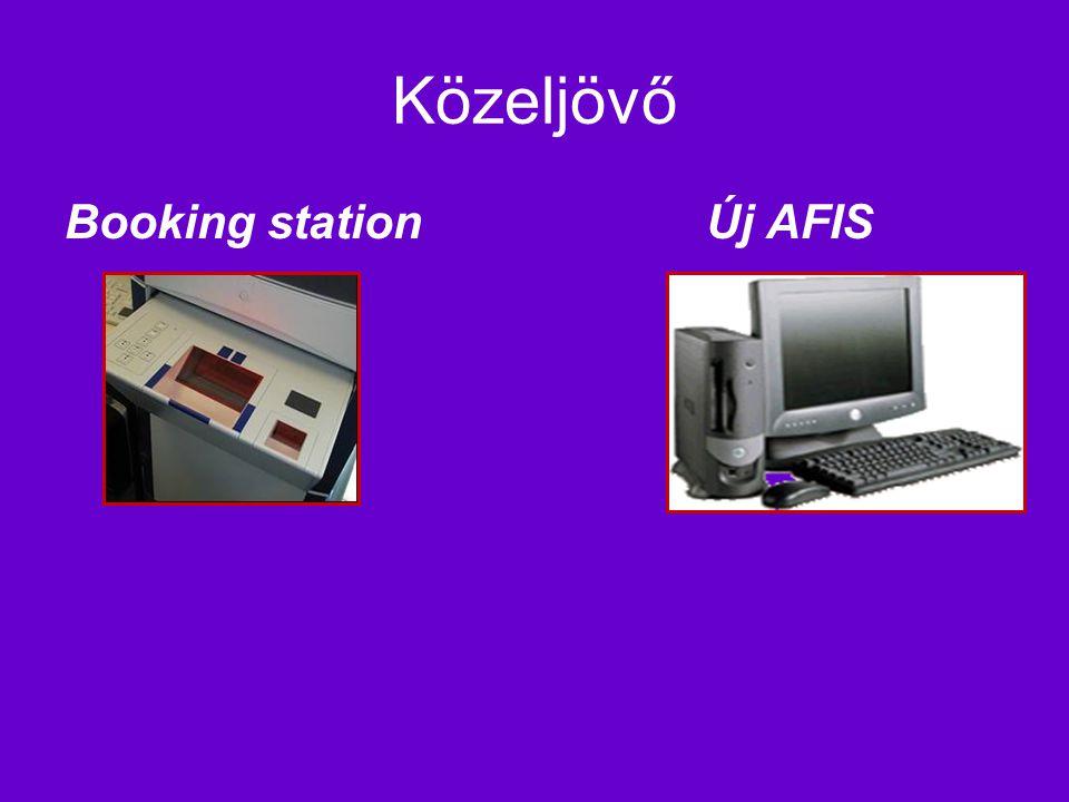 Közeljövő Booking station Új AFIS