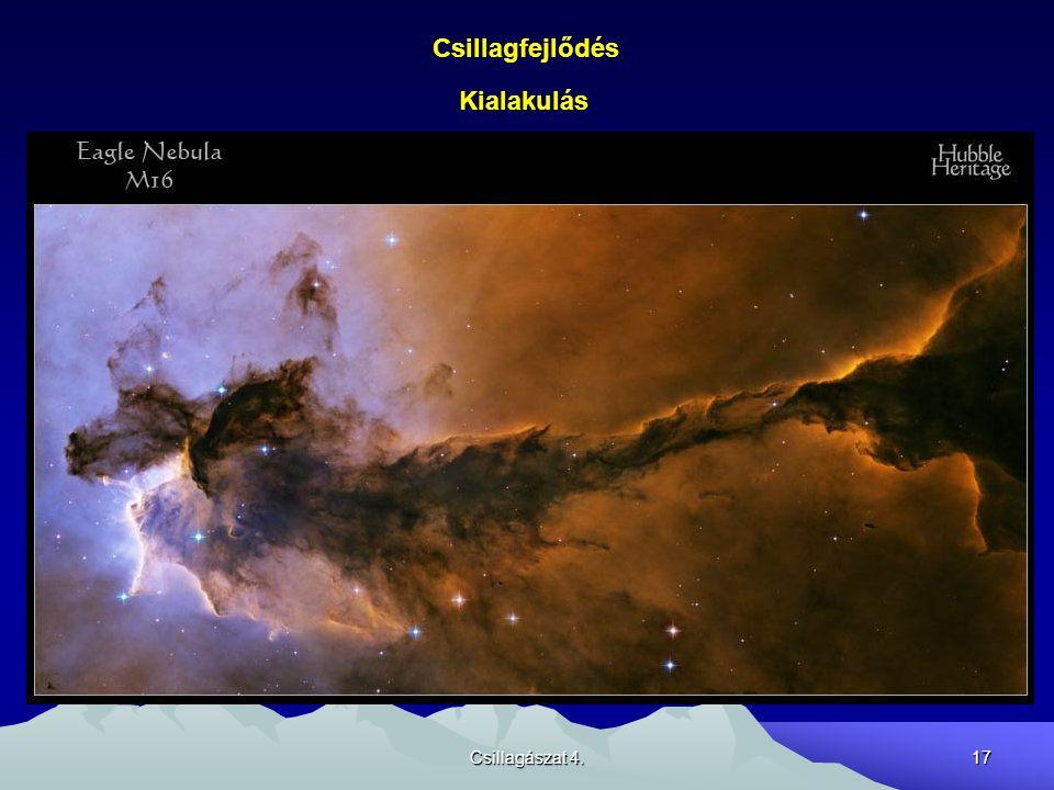 Csillagfejlődés Kialakulás Csillagászat 4.