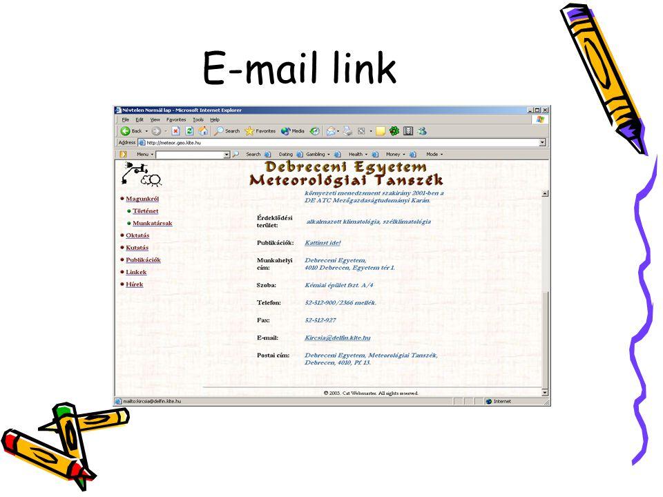 E-mail link