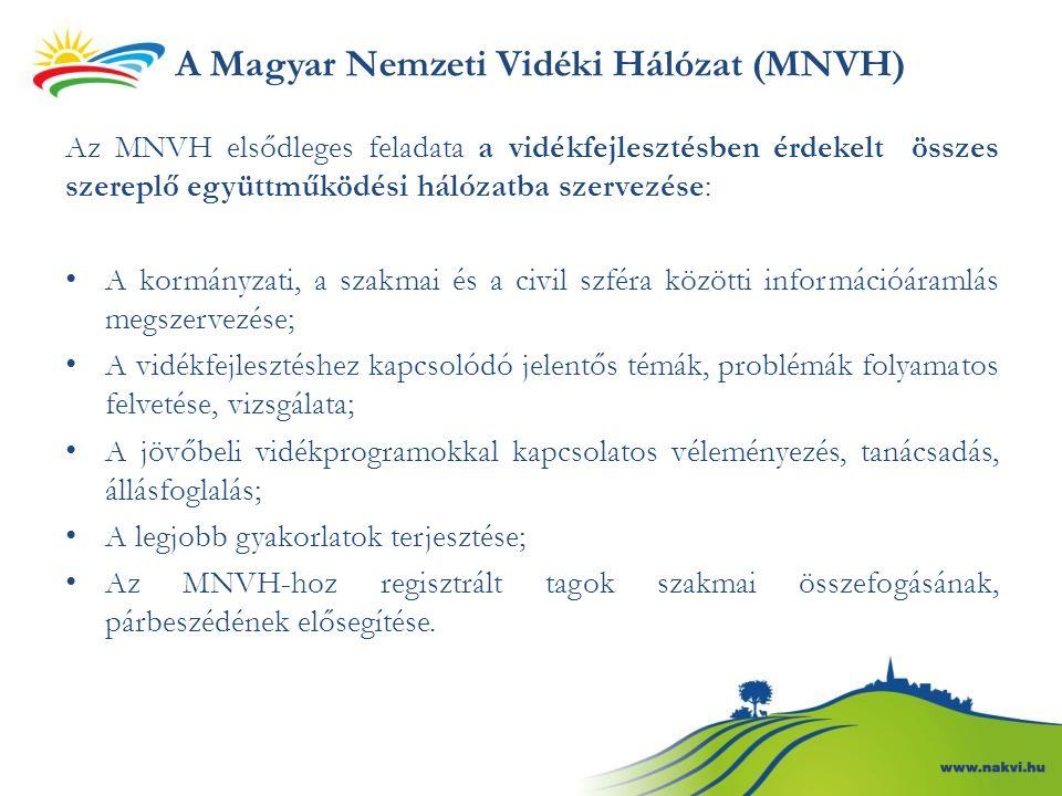 A Magyar Nemzeti Vidéki Hálózat (MNVH)