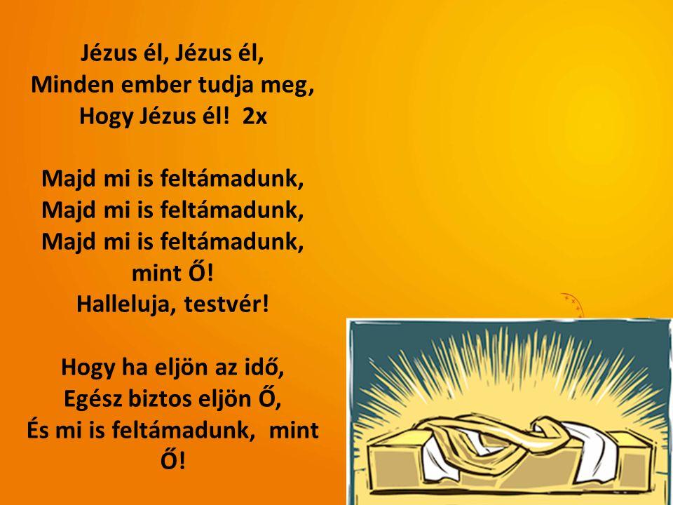 És mi is feltámadunk, mint Ő!