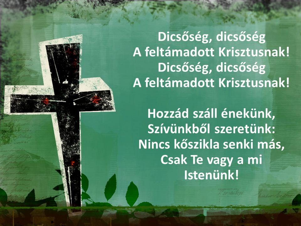 A feltámadott Krisztusnak!