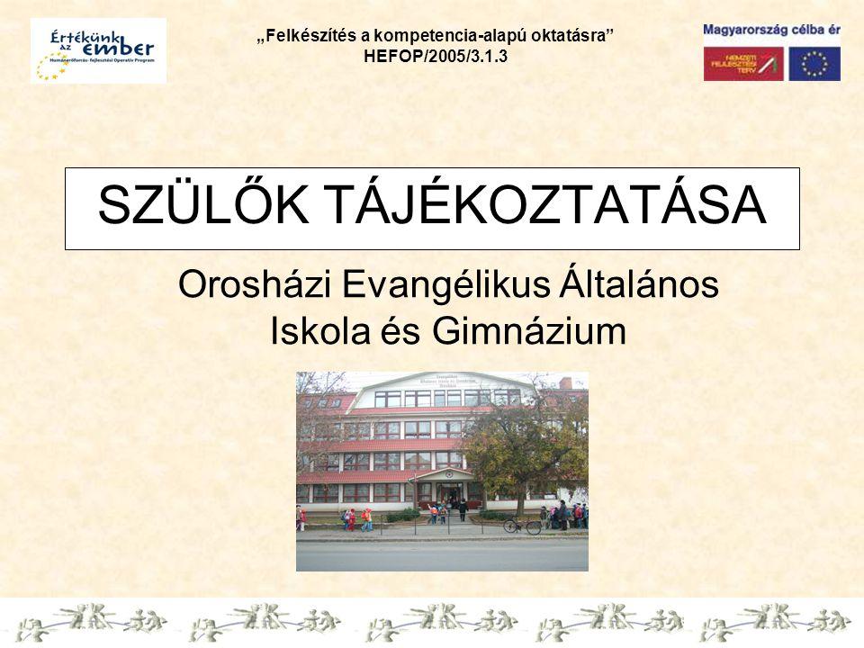 Orosházi Evangélikus Általános Iskola és Gimnázium