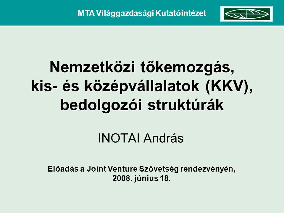 MTA Világgazdasági Kutatóintézet