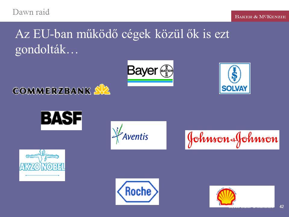 Az EU-ban működő cégek közül ők is ezt gondolták…