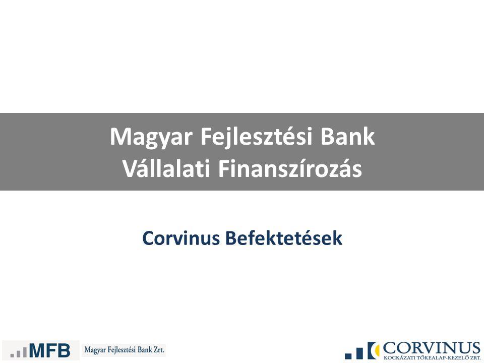 Magyar Fejlesztési Bank Vállalati Finanszírozás