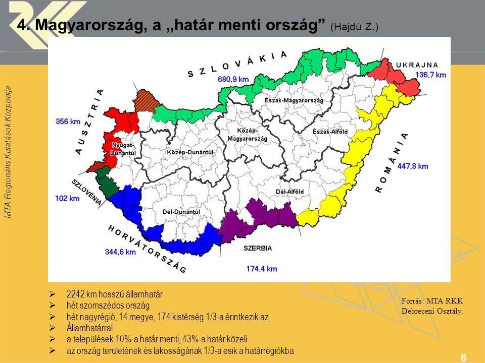 Forrás: MTA RKK Debreceni Osztály.