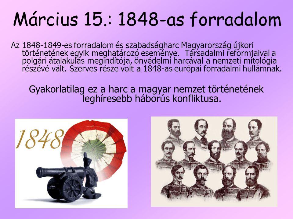 Március 15.: 1848-as forradalom