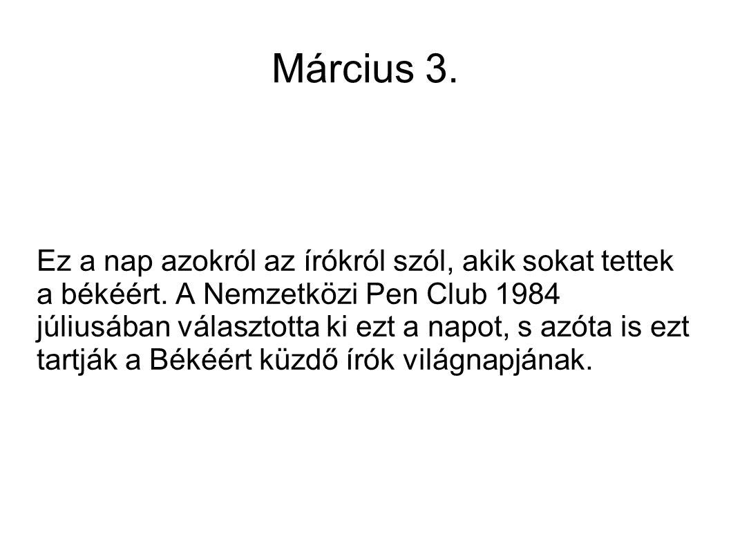 Március 3.