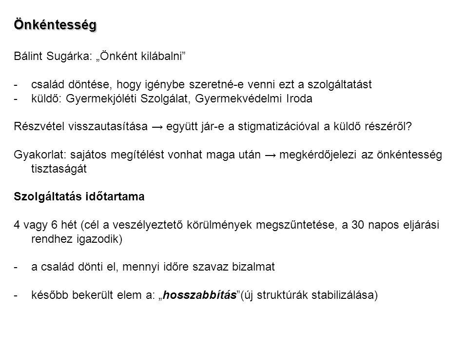 """Önkéntesség Bálint Sugárka: """"Önként kilábalni"""