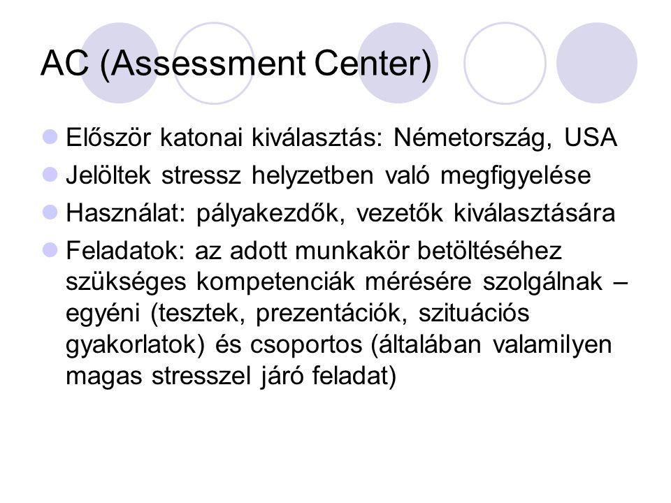 AC (Assessment Center)
