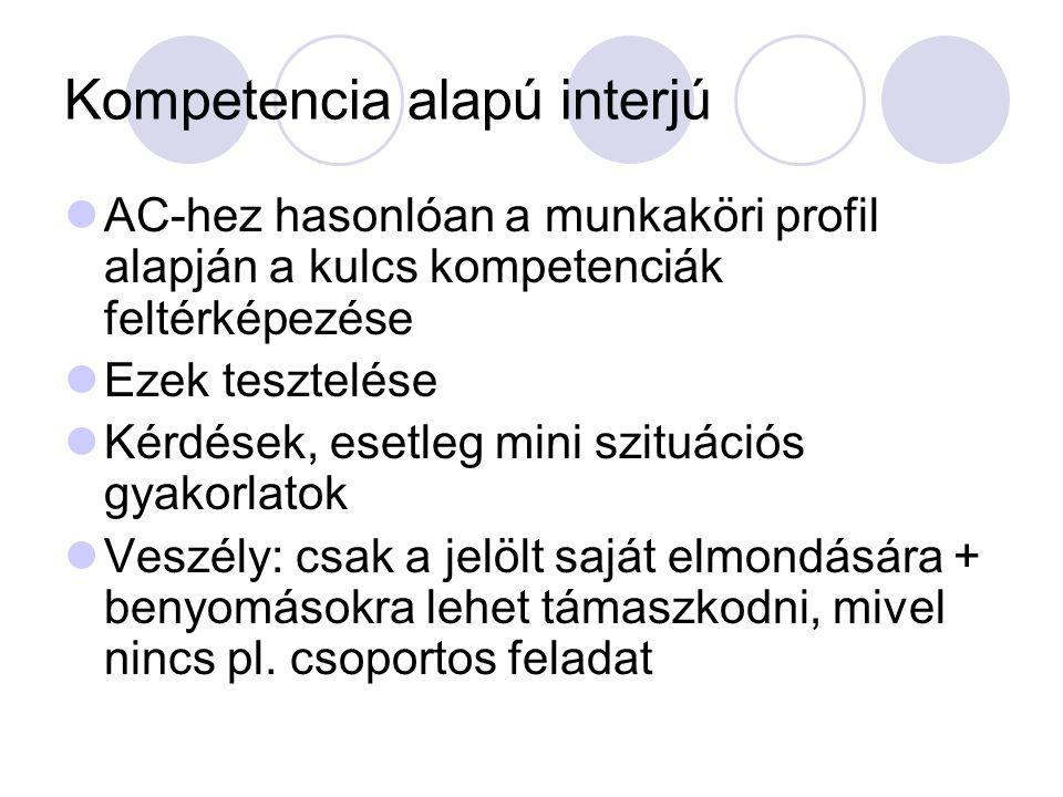 Kompetencia alapú interjú