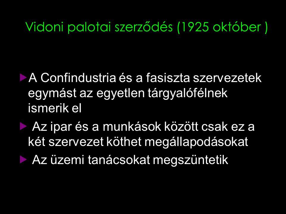 Vidoni palotai szerződés (1925 október )