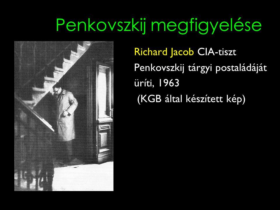 Penkovszkij megfigyelése