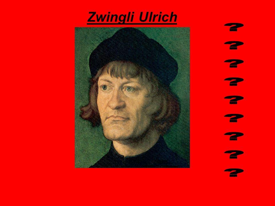 Zwingli Ulrich