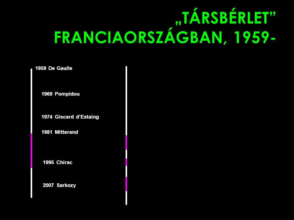 """""""TÁRSBÉRLET FRANCIAORSZÁGBAN, 1959-"""