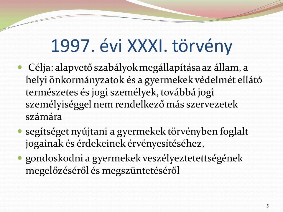 1997. évi XXXI. törvény