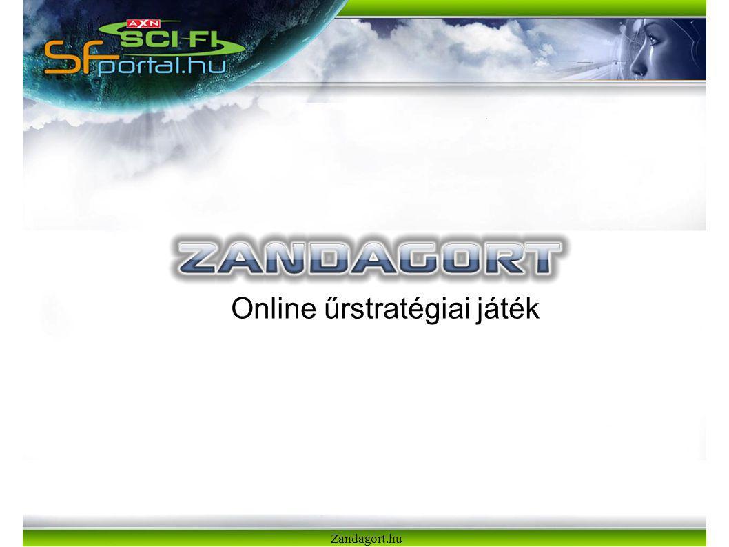 Online űrstratégiai játék