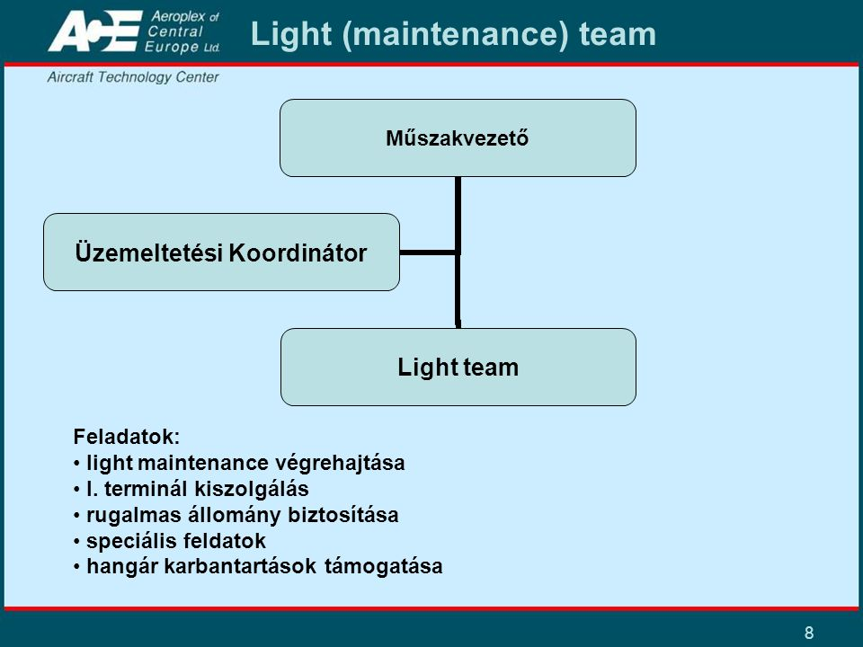 Light (maintenance) team