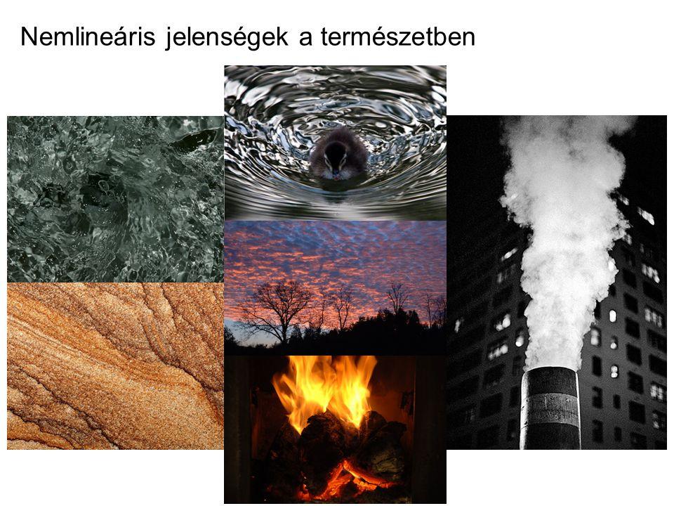 Nemlineáris jelenségek a természetben