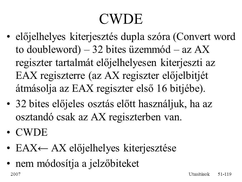 CWDE