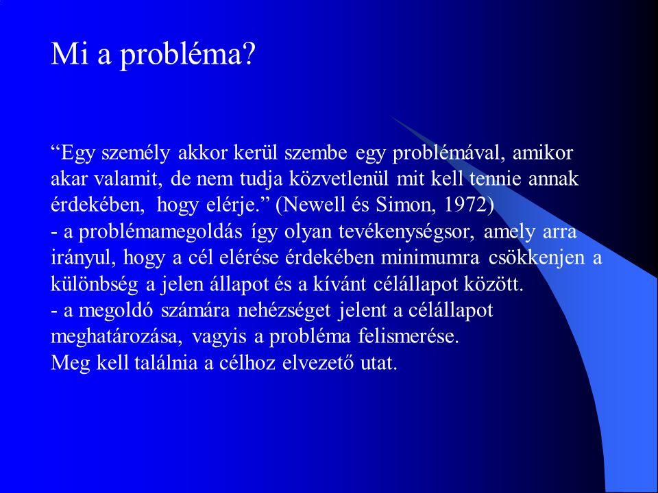 Mi a probléma