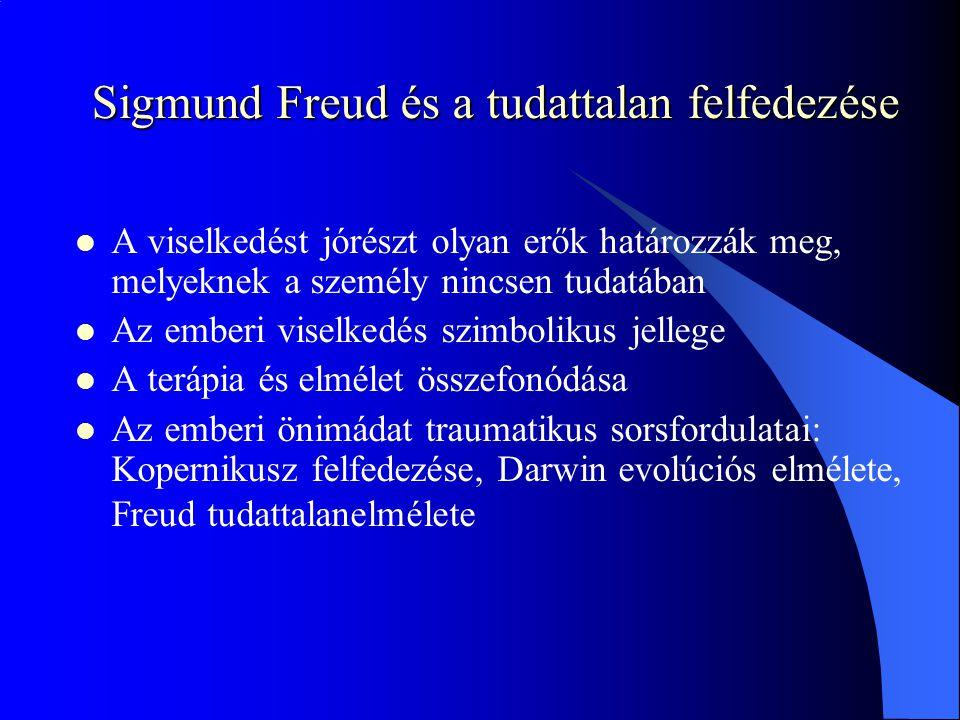 Sigmund Freud és a tudattalan felfedezése
