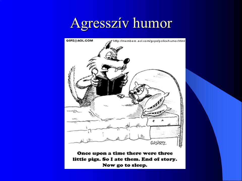 Agresszív humor
