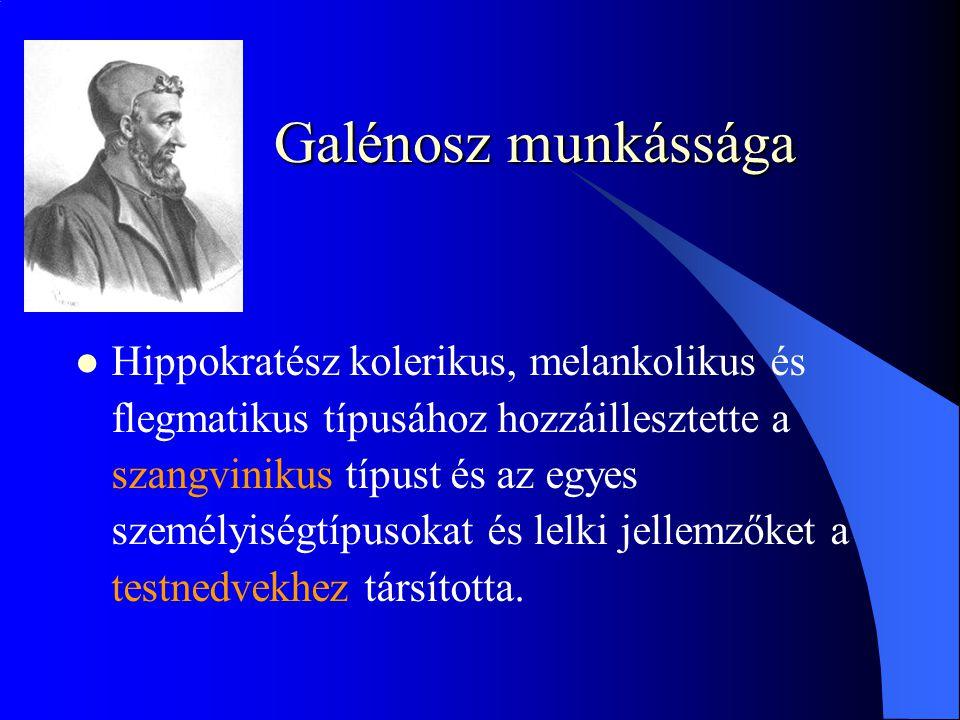 Galénosz munkássága