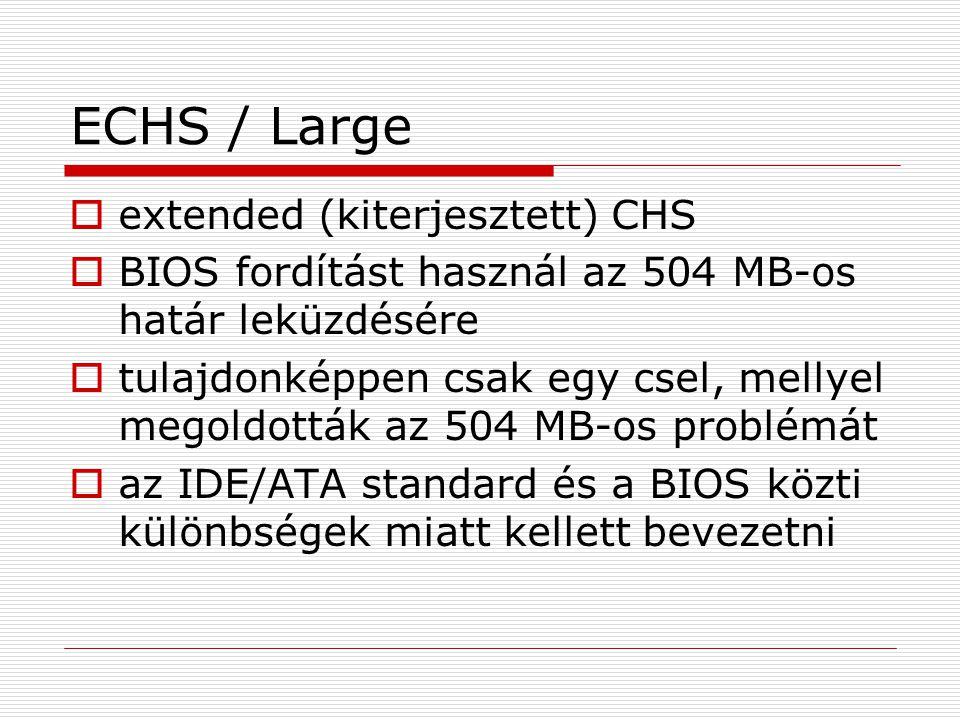 ECHS / Large extended (kiterjesztett) CHS