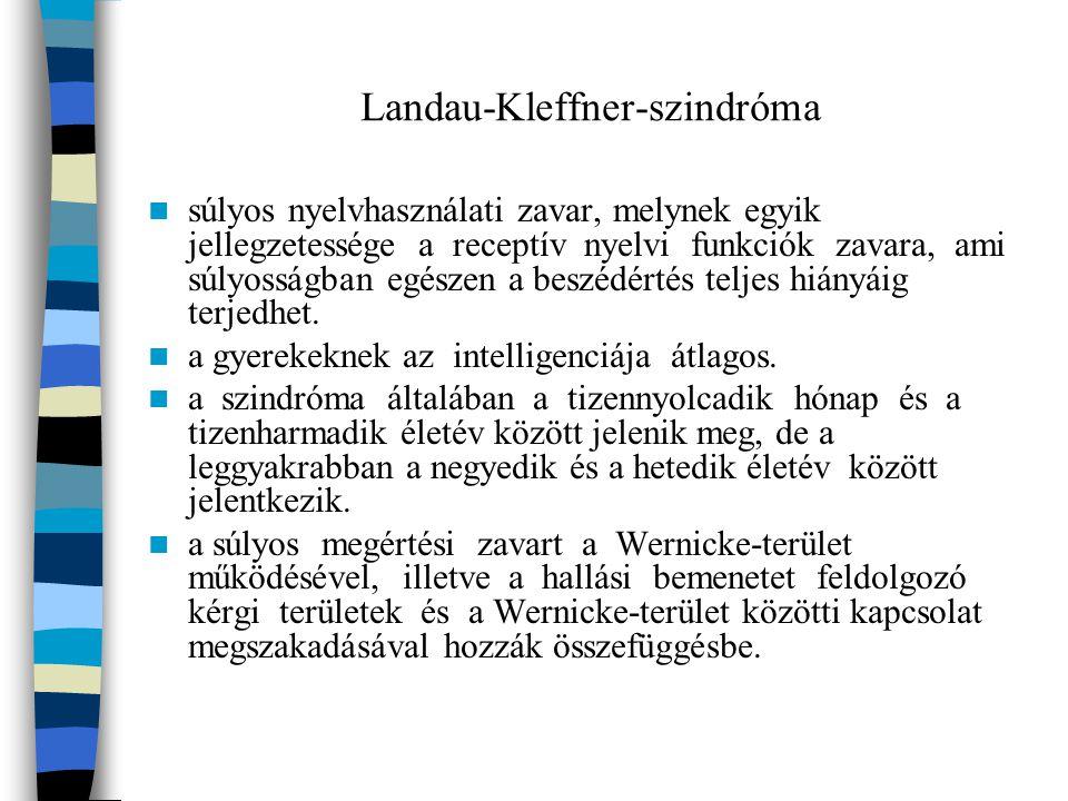 Landau-Kleffner-szindróma